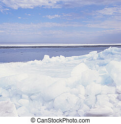 {Rafted Ice Phenomena - I.} - Compelling outcome of strong...