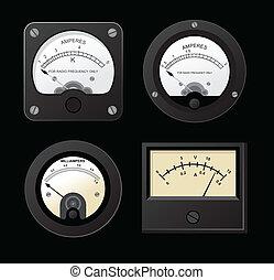 Volt-Amper - Vector Ampermeter, Voltmeter and Microampere...