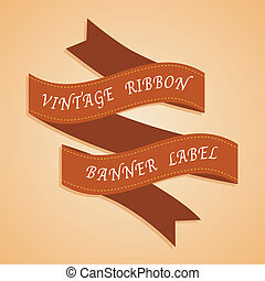 Vintage Styled Ribbons