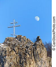 Cross and Moon