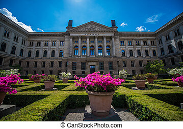 Federal Council of Germany - facade of the Federal Council...