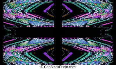 television and film static and electronic noise captured...
