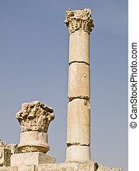 Temple of Zeus remains,Jerash