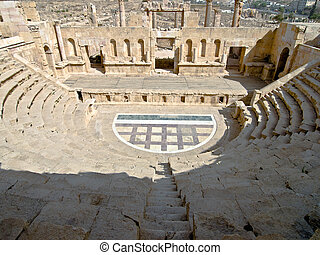 Amphitheater in Jerash