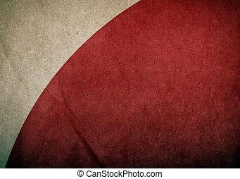 papper,  grunge, röd, bakgrund