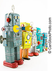 robots - a team of robots