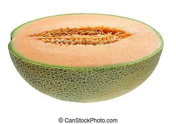 Half of Rock Melon