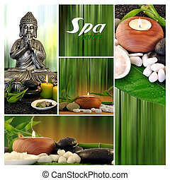 spa composition photographs - composition five photographs...