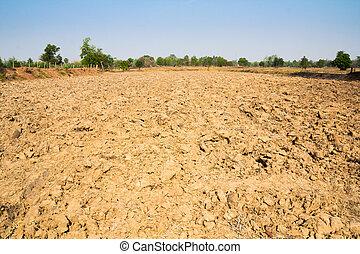 Furrow farm - Furrow soil of farm in thailand