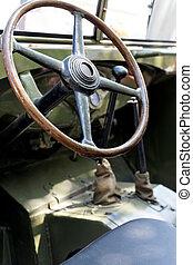 Military retro car day