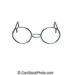 Photo of chrome glasses for adv or others purpose use