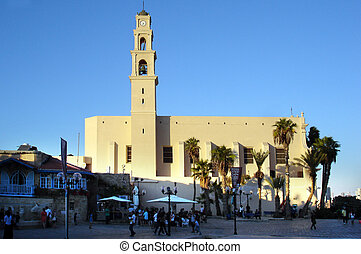 Jaffa - Israel - JAFFA, ISR - OCT 20:St. Peter's Church in...