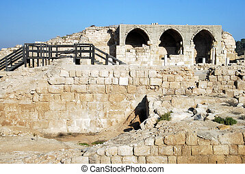 Bet Guvrin - Israel - BET GUVRIN, ISR - JAN 02: Ruins of...