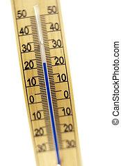mercurio, habitación, termómetro, tiro,...