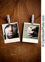 hippie lifestyle - special toned, made fom my images and...