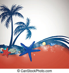 Vector Summer Background