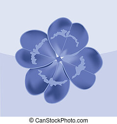 Four leaf clover. Vector icon. St. Patrick's day symbol