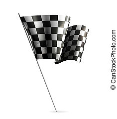 Checkered Flag, eps10