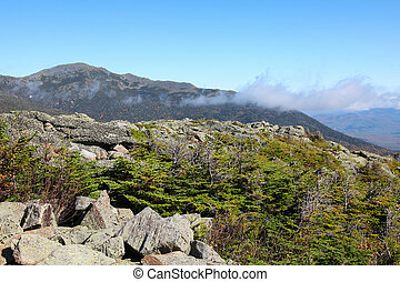 White Mountains - Landscape in the White Mountains, Coos...