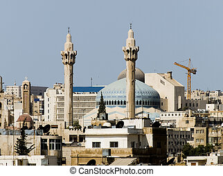New Amman mosque in the new part of the city