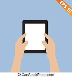 Bring Your Own Device concept - Vector illustration - EPS10