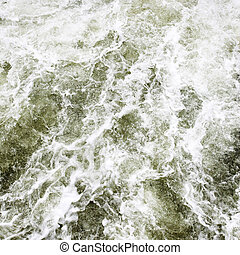 Flood - Seethe water abstract background