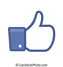 Like - Illustration of a Like button