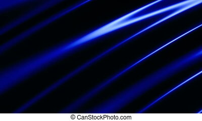 Deep Blue Streaks of Light Looping Animated Background