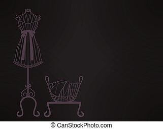 Mannequin sillhouette EPS10