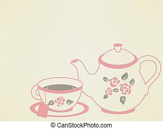 Vintage Tea Pot Set