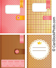 Diary Collection - Vector File EPS10