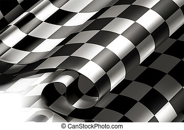 checkered, fundo, horizontais, 10eps