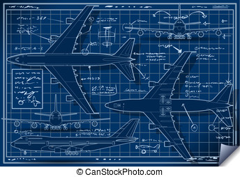 Project of a Plane in Five Positions