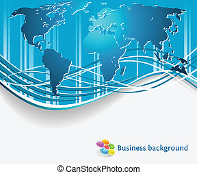 Corporate business background