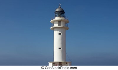 the Es Cap de Barbaria lighthouse in formentera