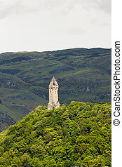 William Wallace Monument, Stirling, Scotland