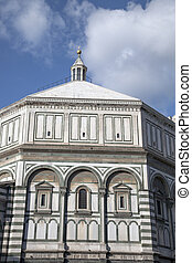 Baptistery of Cathedral Church; Florence; Italy;