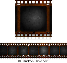 Camera Film - Camera film design EPS10 Transparencies used...
