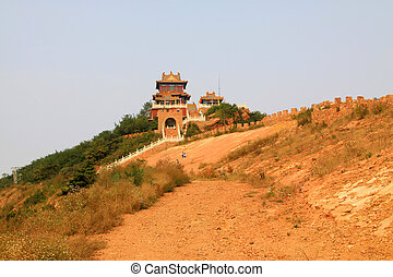 temple at the top of a mountain