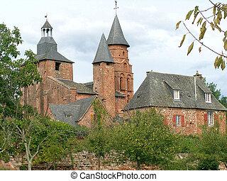 The village of Collonges-la-Rouge, Limousin, France.
