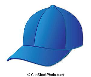 baseball cap - Blue baseball cap