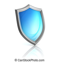 shield 3d icon - 3d, anti, antivirus, background, badge,...