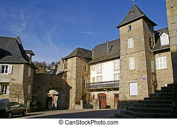 Port Margot in the village of Correze, Limousin...