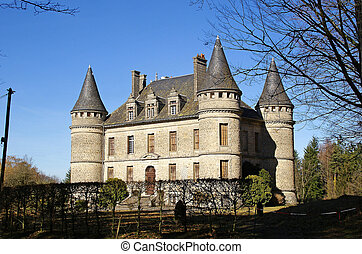 The chateau in Le Bech, near Correze, Limousin...