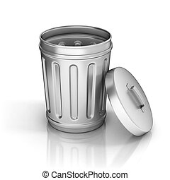 Trash can - background, basket, bin, book, bucket, can, cap,...