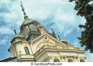 Beautiful theater in Kosice, Slovakia. - State Theater...