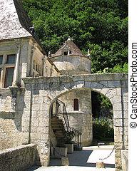 Door, Village Brantome