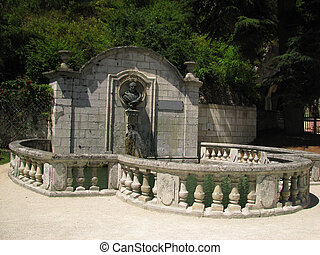 Fountain, Village Brantome