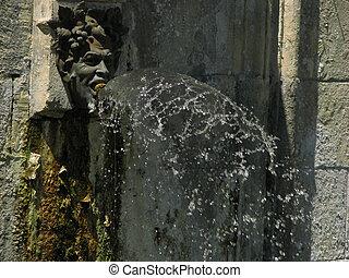 Fountain, Village Brantome
