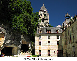 Abbey, Village Brantome